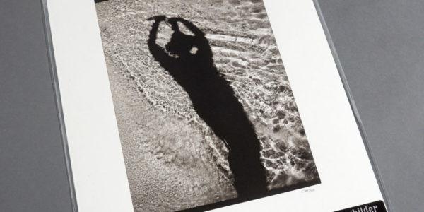 Selbstporträt auf Sand