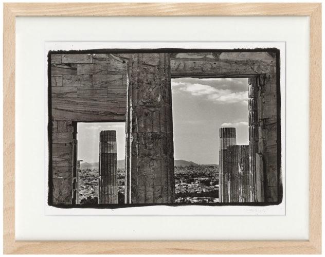 Akropolis - Kallitypie - Fine Art Print von Thilo Nass