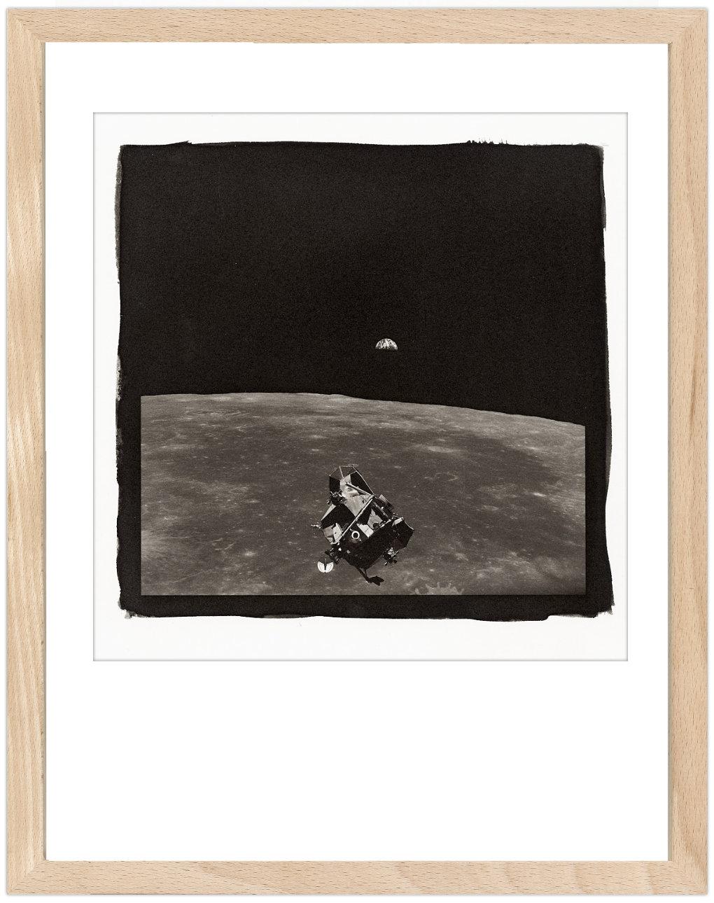 Apollo 11 - Kallitypie - Fine Art Print von Thilo Nass