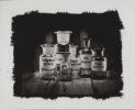 Apotherkerflaschen Kallitypie - Fine Art Print von Thilo Nass