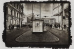 Checkpoint Charlie Kallitypie - Fine Art Print von Thilo Nass
