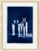 Glasflaschen Stilleben - Fine Art Print - Cyanotypie von Thilo Nass
