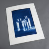 Glasflaschen - Cyanotypie von Thilo Nass