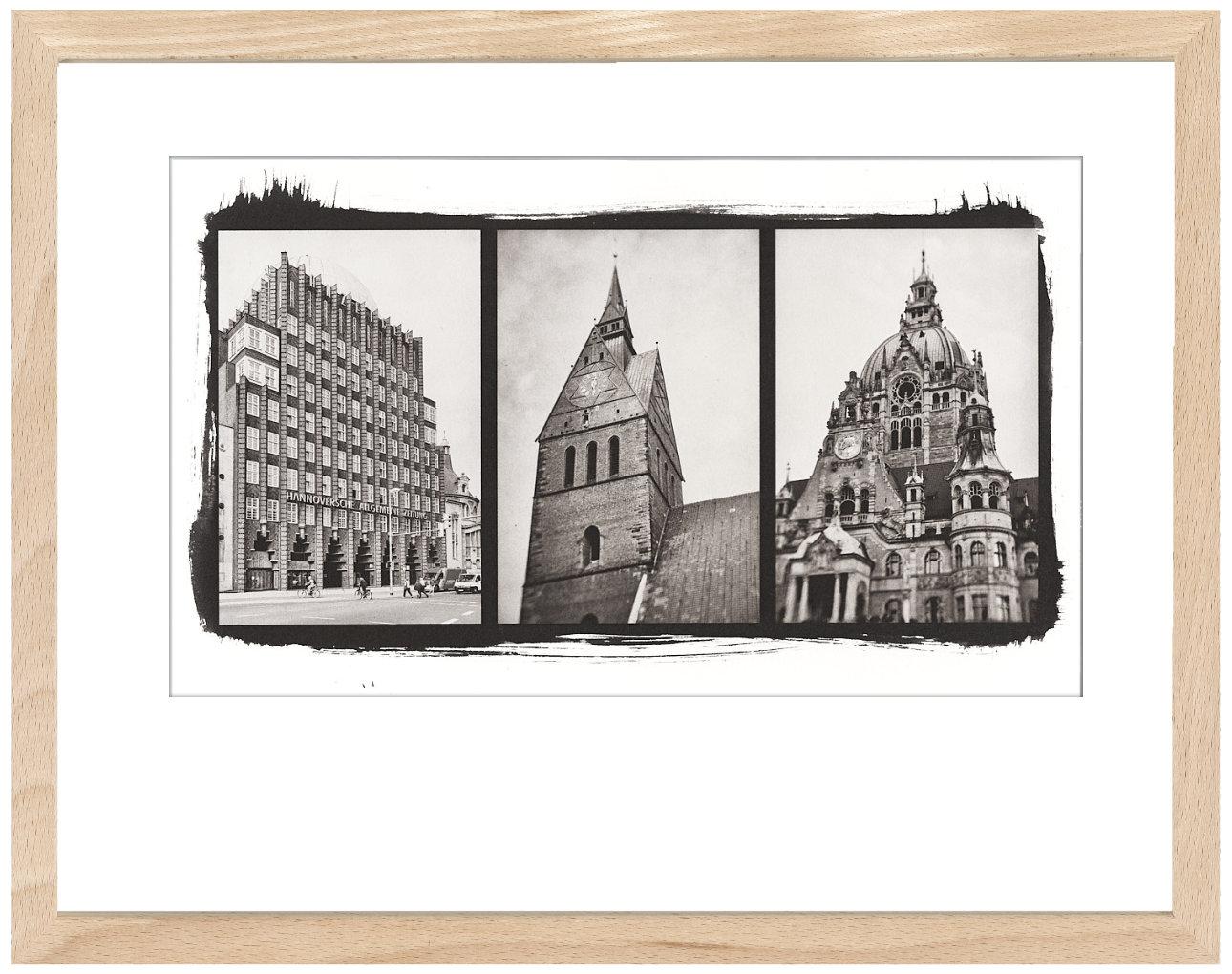 Hannover Trytichon - Kallitypie von Thilo Nass