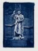 Martin Luther - Cyanotypie von Thilo Nass