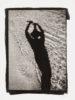 Selbstportrait auf Sand, Cascai Portugal - Kallitypie von Thilo Nass